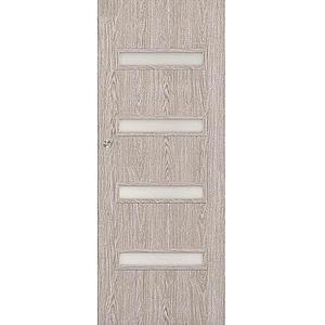 Posuvné dveře Verona 4*4 60P dub stříbrný obraz