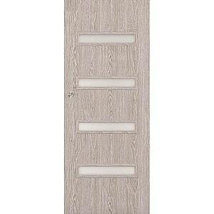 Posuvné dveře Verona 4*4 70P dub stříbrný obraz