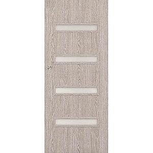 Posuvné dveře Verona 4*4 80P dub stříbrný obraz