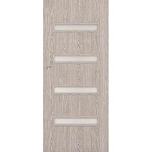 Posuvné dveře Verona 4*4 90P dub stříbrný obraz