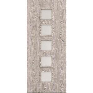 Posuvné dveře Vedi 5*5 90L dub stříbrný obraz