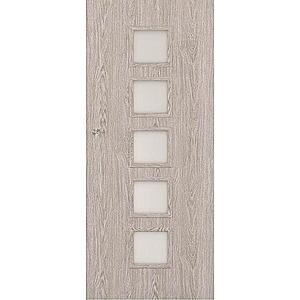 Posuvné dveře Vedi 5*5 90P dub stříbrný obraz