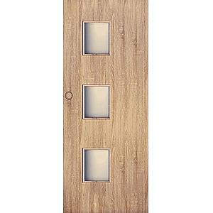 Posuvné dveře Trio 3*3 60P dub sonoma obraz