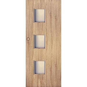Posuvné dveře Trio 3*3 70P dub sonoma obraz