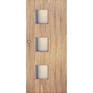 Posuvné dveře Trio 3*3 90P dub sonoma obraz