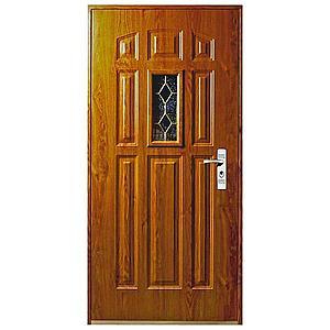 Vchodové dveře MX-Driady 90l zlatý dub obraz