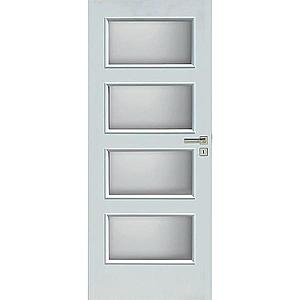 Interiérové dveře Eliza 4*4 60L bílé obraz