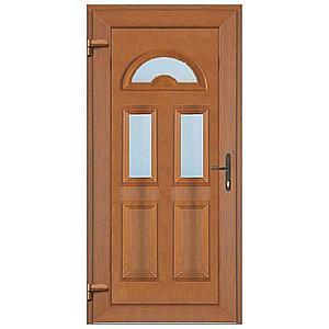 Vchodové dveře Ana 2 d06 90l 98x198x7 zlatý dub obraz