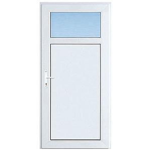 Vchodové dveře Easy d01 90p 98x198x6 bílé obraz
