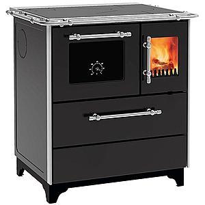 Kuchyňská kamna Donna 70 černá 5 kW levé provedení obraz