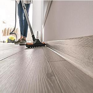 Podlahová lišta Esquero Duo 650 Bílá obraz
