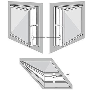 Těsnění oken pro klimatizaci WK-400A obraz