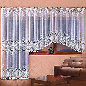 Žakárová záclona MARZANNA/A903/150X250 obraz