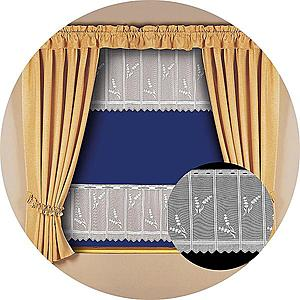 Záclona kusová Levandule 40x300 h3257 20 obraz