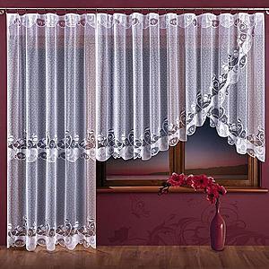 Žakárová záclona DELICJA/A728/300x150 obraz