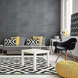 Architektonický beton 80 X 40 X 1, 5 tmavě šedá obraz