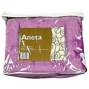 Deka 150x200 Aneta fialová lila obraz