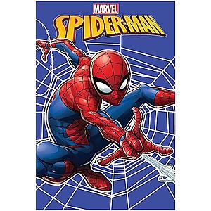 Deka fleece 100x150 Spiderman web obraz