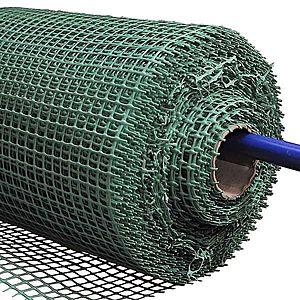 Plastové pletivo 0, 4m oko 15x15 zelená (BR5) obraz