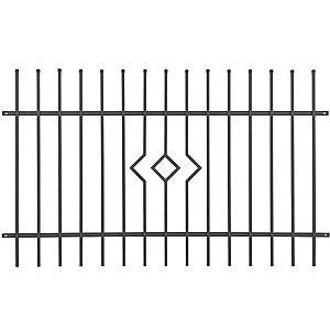 Panel plotový Porto 2 2m|1, 2m ZN+RAL7016 obraz