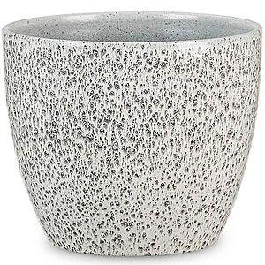 Obal na květináč keramický scheurich 920, ø22cm, barva černá spirit obraz