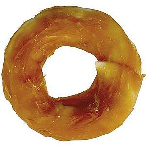 Kruh žvýkací obalený kuřecím masem 10cm/70- 110g, Baff obraz