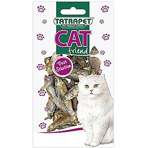 Sušené rybky pro kočku 30 g obraz