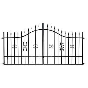 Brána MARCEL 3m/1, 2-1, 5m ZN+RAL9005 obraz