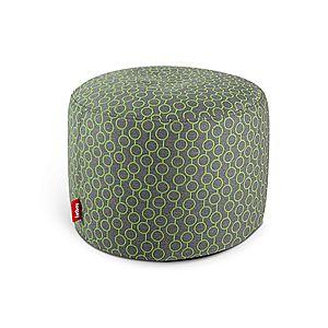 """Sedací pytel / puf """"point deluxe"""", 10 variant - Fatboy® Barva: circles green obraz"""