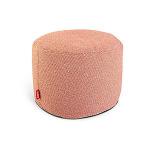 "Sedací pytel / puf ""point deluxe"", 10 variant - Fatboy® Barva: orange weave obraz"