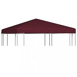 Střecha na altán 310 g / m² 3 x 3 m Dekorhome Vínová obraz