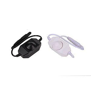 T-LED Stmívač manuální 12-24V Vyberte barvu: Černá 06102 obraz