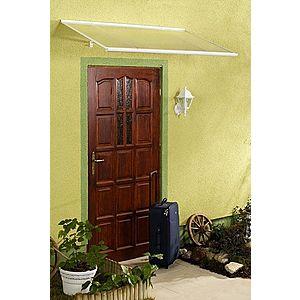 Stříška nad dveře 160/85 Dekorhome Bílá obraz