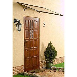 Stříška nad dveře 160/85 Dekorhome Hnědá obraz
