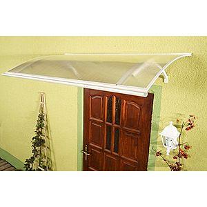 Stříška nad dveře 120/87 Dekorhome Bílá obraz