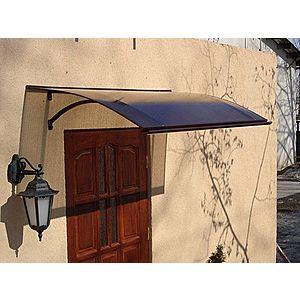 Stříška nad dveře 120/87 Dekorhome Hnědá obraz