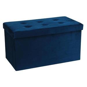 Sedací Lavice Velvet Modrá obraz