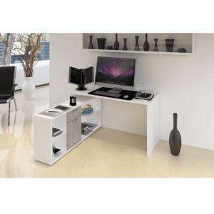 Počítačový stůl NOE NEW Tempo Kondela Dub sonoma obraz