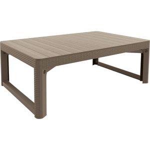 stůl LYON rattan - Allibert Cappuccino obraz