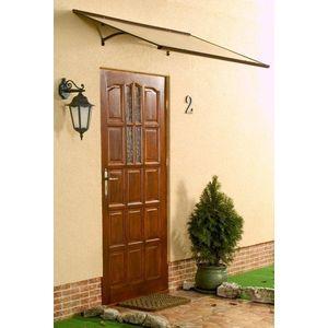 Stříška nad dveře MELES 120/85 Dekorhome Hnědá obraz