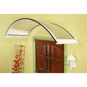 Oblouková stříška nad dveře ONYX 160/90 Dekorhome Bílá obraz