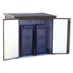 Zahradní úložný box 1 m3 kovový Dekorhome obraz