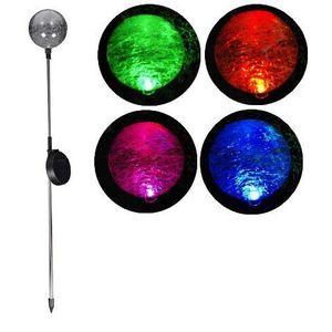 Garthen 306 Zahradní LED solární lampa skleněné koule se změnou barvy obraz