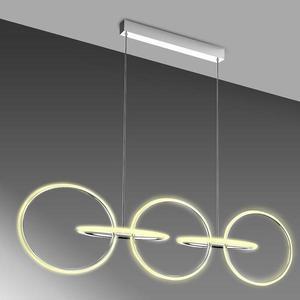 Svítidlo A0022-350 Kos 114x35 60W LED chrom 4000K obraz