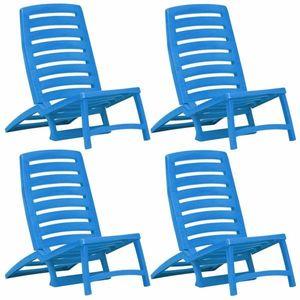Skládací kempingová židle - šedá obraz