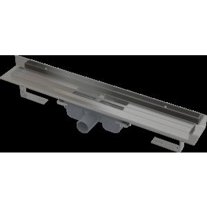 ALCAPLAST APZ16-300 Wall podlahový žlab v.95mm (kout min.800mm) pro plný rošt a s pevným límcem ke stěně APZ16-300 obraz