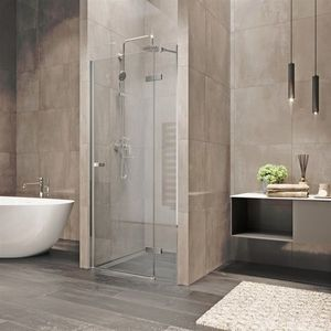 MEREO Sprchové dveře, Novea, 100x200 cm, chrom ALU, sklo Čiré, levé provedení CK10311ZL obraz