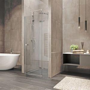 MEREO Sprchové dveře, Novea, 100x200 cm, chrom ALU, sklo Čiré, pravé provedení CK10311ZP obraz