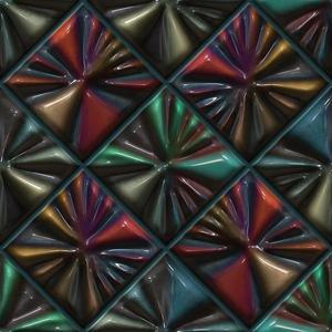 Skleněný panel 60/60 Vitro Lava Esg obraz