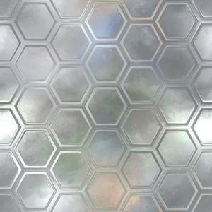 Skleněný panel 60/60 Reflex Hex Esg obraz